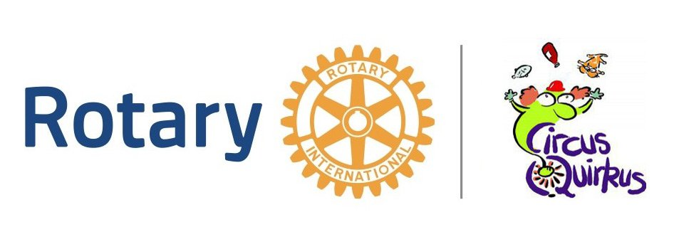 ROtary and Circus Quirkus logos